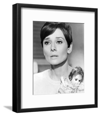 Audrey Hepburn, Wait Until Dark (1967)--Framed Art Print
