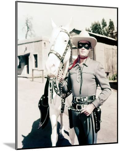 Clayton Moore, The Lone Ranger (1956)--Mounted Photo