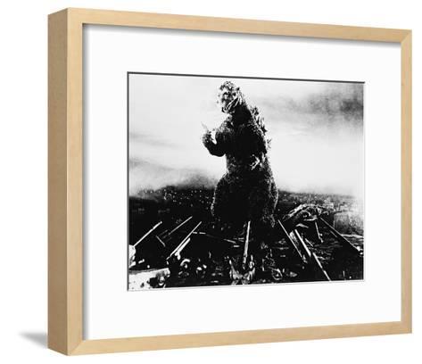 Godzilla, King of the Monsters! (1956)--Framed Art Print