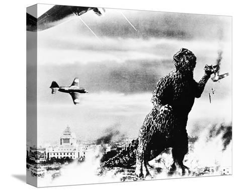 Godzilla, King of the Monsters! (1956)--Stretched Canvas Print