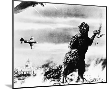 Godzilla, King of the Monsters! (1956)--Mounted Photo