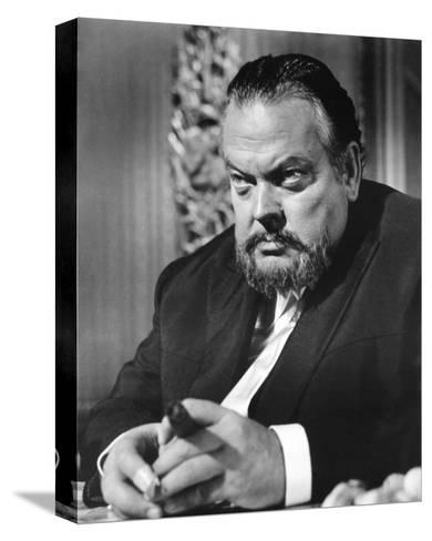 Orson Welles, House of Cards (1968)--Stretched Canvas Print