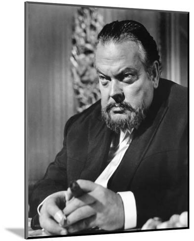 Orson Welles, House of Cards (1968)--Mounted Photo