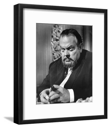 Orson Welles, House of Cards (1968)--Framed Art Print