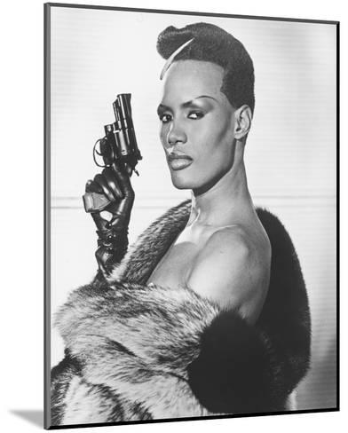 Grace Jones, A View to a Kill (1985)--Mounted Photo