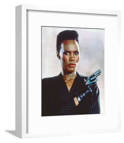 Grace Jones, A View to a Kill (1985)--Framed Art Print