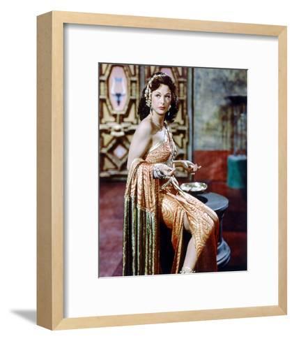 Hedy Lamarr, Samson and Delilah (1949)--Framed Art Print