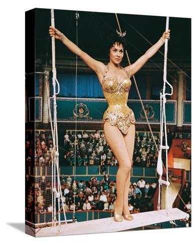 Trapeze, Gina Lollobrigida, 1956--Stretched Canvas Print