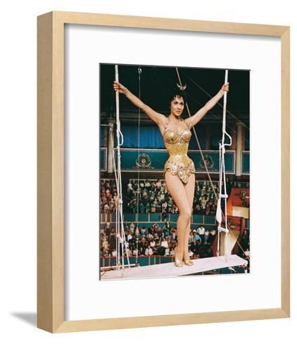 Trapeze, Gina Lollobrigida, 1956--Framed Art Print