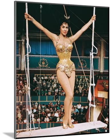 Trapeze, Gina Lollobrigida, 1956--Mounted Photo