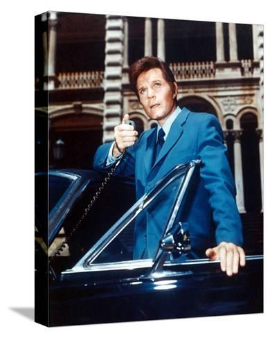Jack Lord, Hawaii Five-O--Stretched Canvas Print