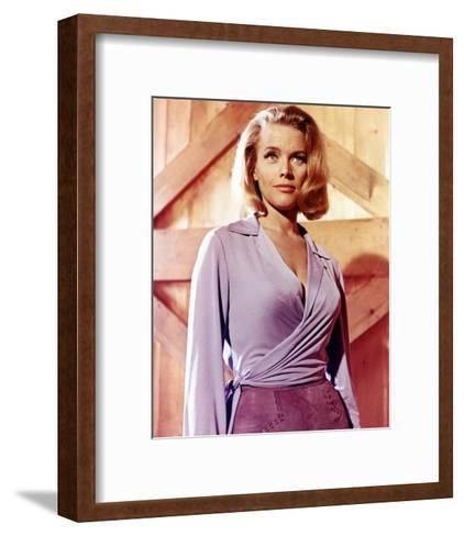 Honor Blackman, Goldfinger (1964)--Framed Art Print