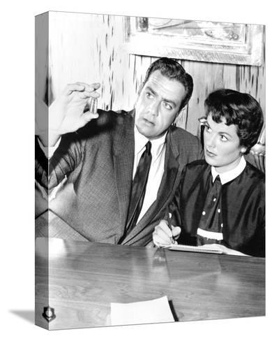 Perry Mason (1957)--Stretched Canvas Print