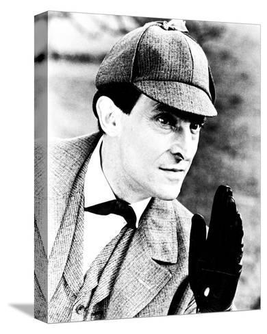 Jeremy Brett, The Adventures of Sherlock Holmes--Stretched Canvas Print