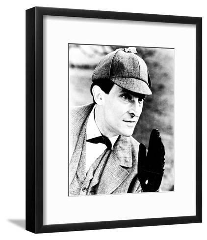 Jeremy Brett, The Adventures of Sherlock Holmes--Framed Art Print