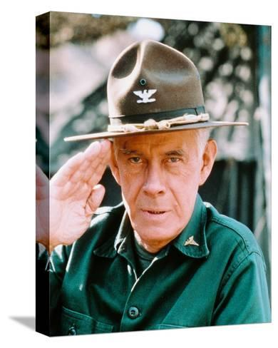 Harry Morgan, M*A*S*H--Stretched Canvas Print