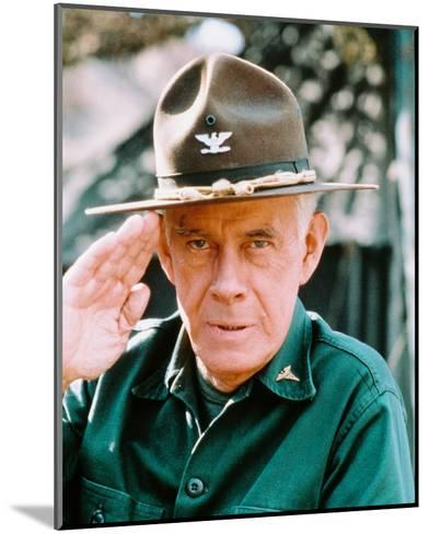 Harry Morgan, M*A*S*H--Mounted Photo