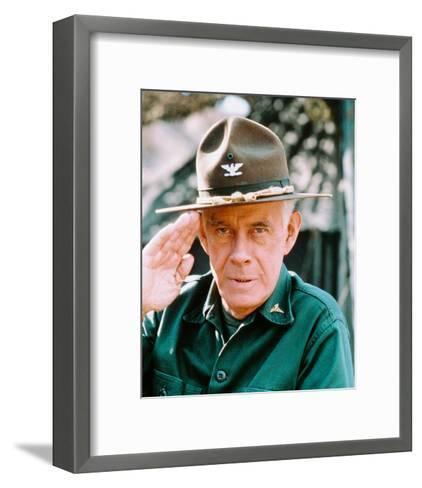 Harry Morgan, M*A*S*H--Framed Art Print
