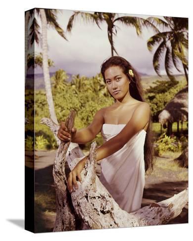 Tarita, Mutiny on the Bounty (1962)--Stretched Canvas Print