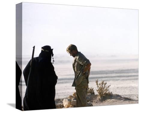 Peter O'Toole, Lawrence of Arabia (1962)--Stretched Canvas Print