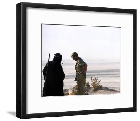 Peter O'Toole, Lawrence of Arabia (1962)--Framed Art Print