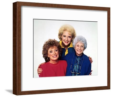 Estelle Getty, The Golden Girls (1985)--Framed Art Print