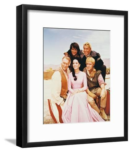 The High Chaparral--Framed Art Print