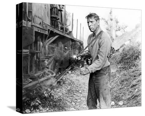 Burt Lancaster, The Train (1964)--Stretched Canvas Print