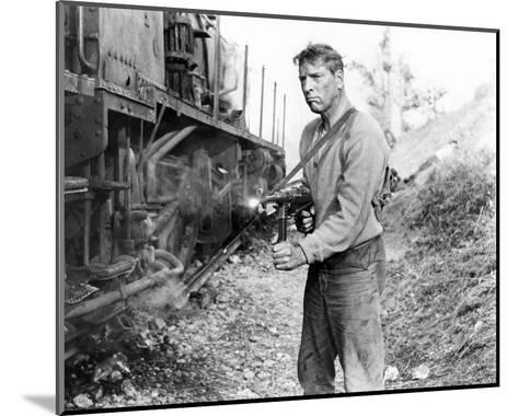 Burt Lancaster, The Train (1964)--Mounted Photo