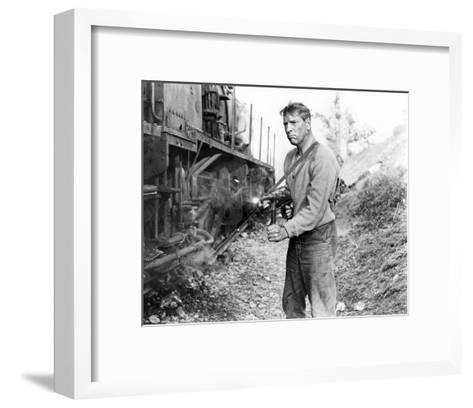 Burt Lancaster, The Train (1964)--Framed Art Print