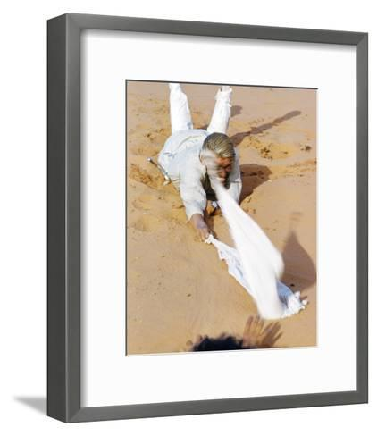 Peter O'Toole, Lawrence of Arabia (1962)--Framed Art Print