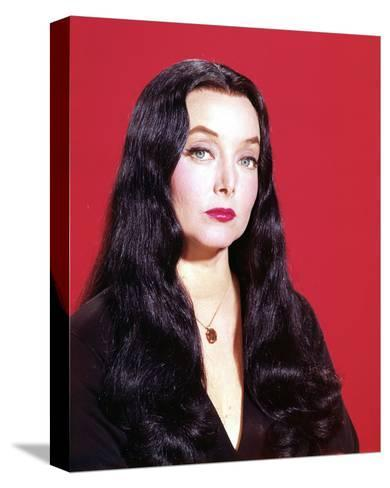 Carolyn Jones, The Addams Family (1964)--Stretched Canvas Print