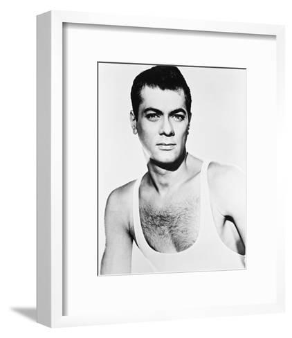 Tony Curtis, Trapeze (1956)--Framed Art Print