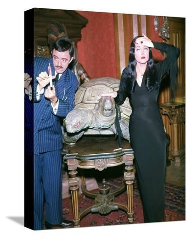 John Astin, The Addams Family (1964)--Stretched Canvas Print