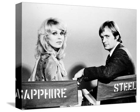 Sapphire and Steel (1979)--Stretched Canvas Print