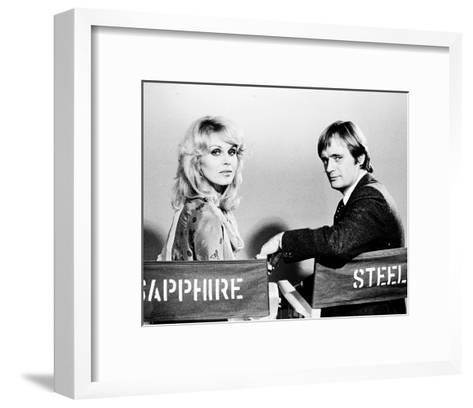 Sapphire and Steel (1979)--Framed Art Print