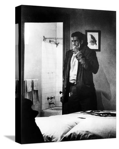 Anthony Perkins, Psycho (1960)--Stretched Canvas Print