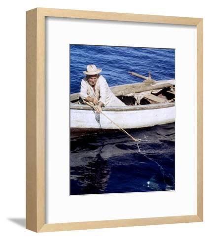 Spencer Tracy, The Old Man and the Sea (1958)--Framed Art Print