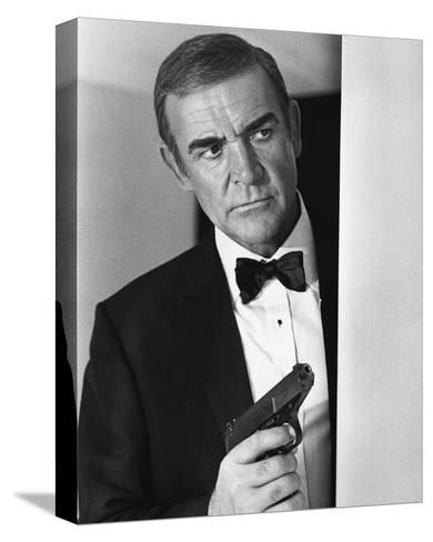 Sean Connery, Never Say Never Again (1983)--Stretched Canvas Print