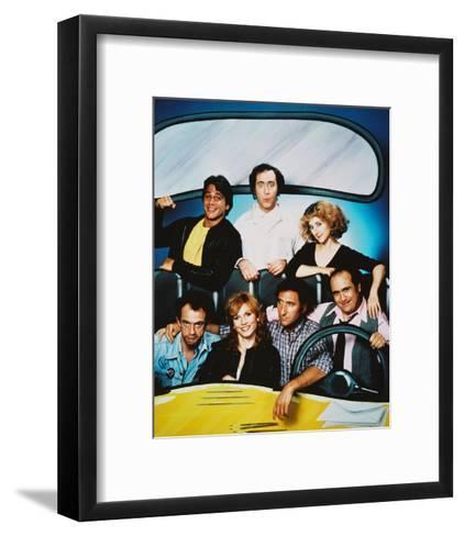 Taxi--Framed Art Print
