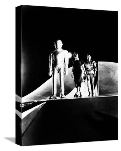 The Day the Earth Stood Still--Stretched Canvas Print