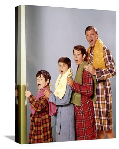The Brady Bunch (1969)--Stretched Canvas Print