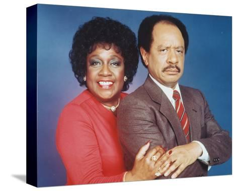 The Jeffersons--Stretched Canvas Print