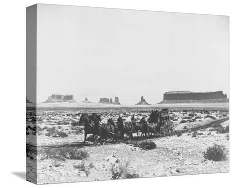 Stagecoach--Stretched Canvas Print