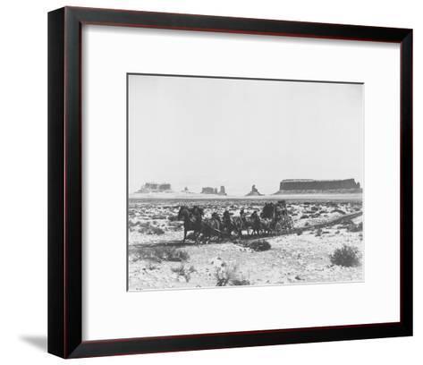 Stagecoach--Framed Art Print