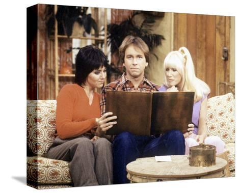 Three's Company--Stretched Canvas Print