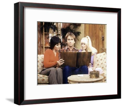 Three's Company--Framed Art Print