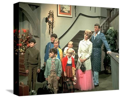 The Brady Bunch--Stretched Canvas Print