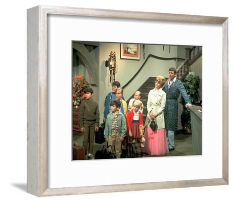 The Brady Bunch--Framed Art Print