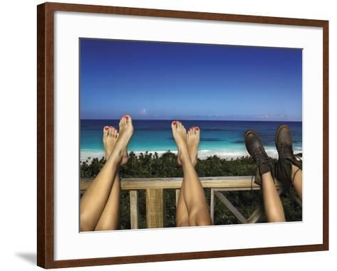 View from Deck-Walter Chin-Framed Art Print